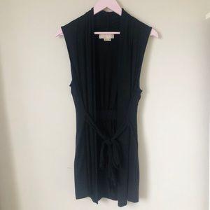 Michael Kors Black Belted Vest.